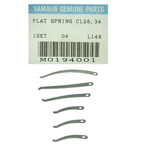 Genuine Yamaha Bb Clarinet Stainless Steel Flat Spring Set for YCL 26 /& YCl 34