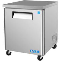 "Turbo Air MUF-28 28"" Commercial Undercounter Freezer single door stainless"