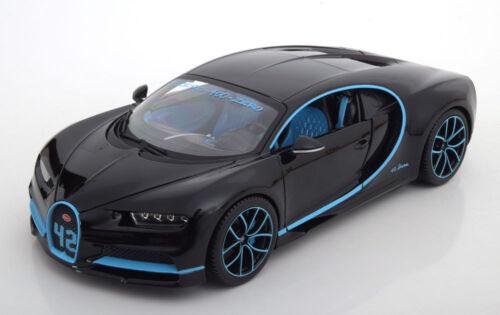 1:18 Bburago Bugatti chiron Zero - 400-Zero record montoya 2017