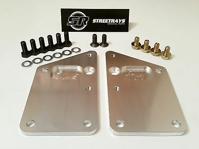 SR Billet Engine Swap Bracket SBC LS Conversion Motor Mount Plate LS1 LS6 LS2