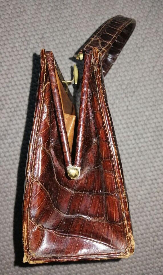 Anden håndtaske, andet mærke, krokodilleskind