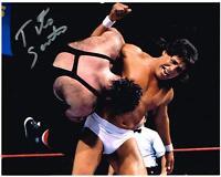 WWE WWF TITO SANTANA AUTOGRAPH AUTOGRAPHED SIGNED 8X10 PHOTO
