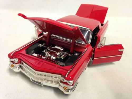 """1963 Cadillac Hot Top Series 62 Collectible 9.5/"""" Diecast Metals 1:24 Jada Toy RD"""