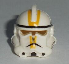 HEADGEAR Lego Star Wars Clone Trooper Helmet EP3 Yellow Marking NEW Genuine Lego
