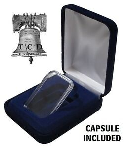 Guardhouse Velvet Display Box for Silver Bar Capsule
