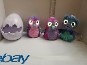 Spin-Master-Hatchimals-Penguala-Interactive-Draggle-Lot-of-3-Fast-Shipping