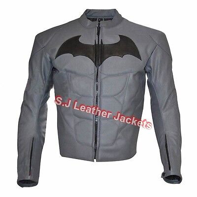 Classyak Mens Fashion Leather Motorbike Waist Coat with Side Laces