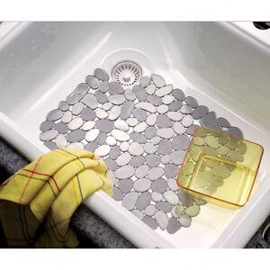 Interdesign 60063 Pebblz Kitchen Sink Protector Mat