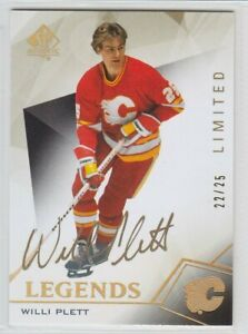 2015-16-UD-SP-AUTHENTIC-WILLI-PLETT-AUTO-22-25-GOLD-LIMITED-PARALLEL-107-Flames