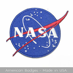 NASA-VECTOR-INSIGNIA-034-The-Meatball-034-Embroidered-Patch-Made-In-USA-Quality