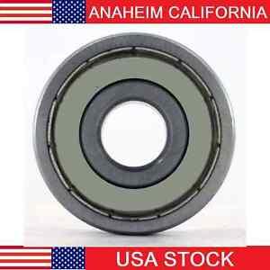 6002-2Z Radial Ball Bearing Double Shielded Bore Dia. 15mm OD 32mm Width 9mm