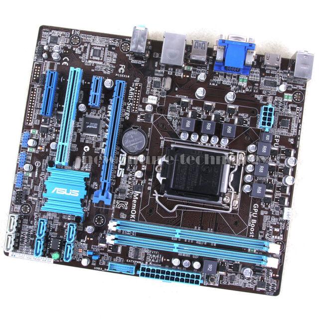 ASUS Motherboard P8H77-M LE, LGA 1155/Socket H2, Intel H77 Chipset,DDR3 Memory