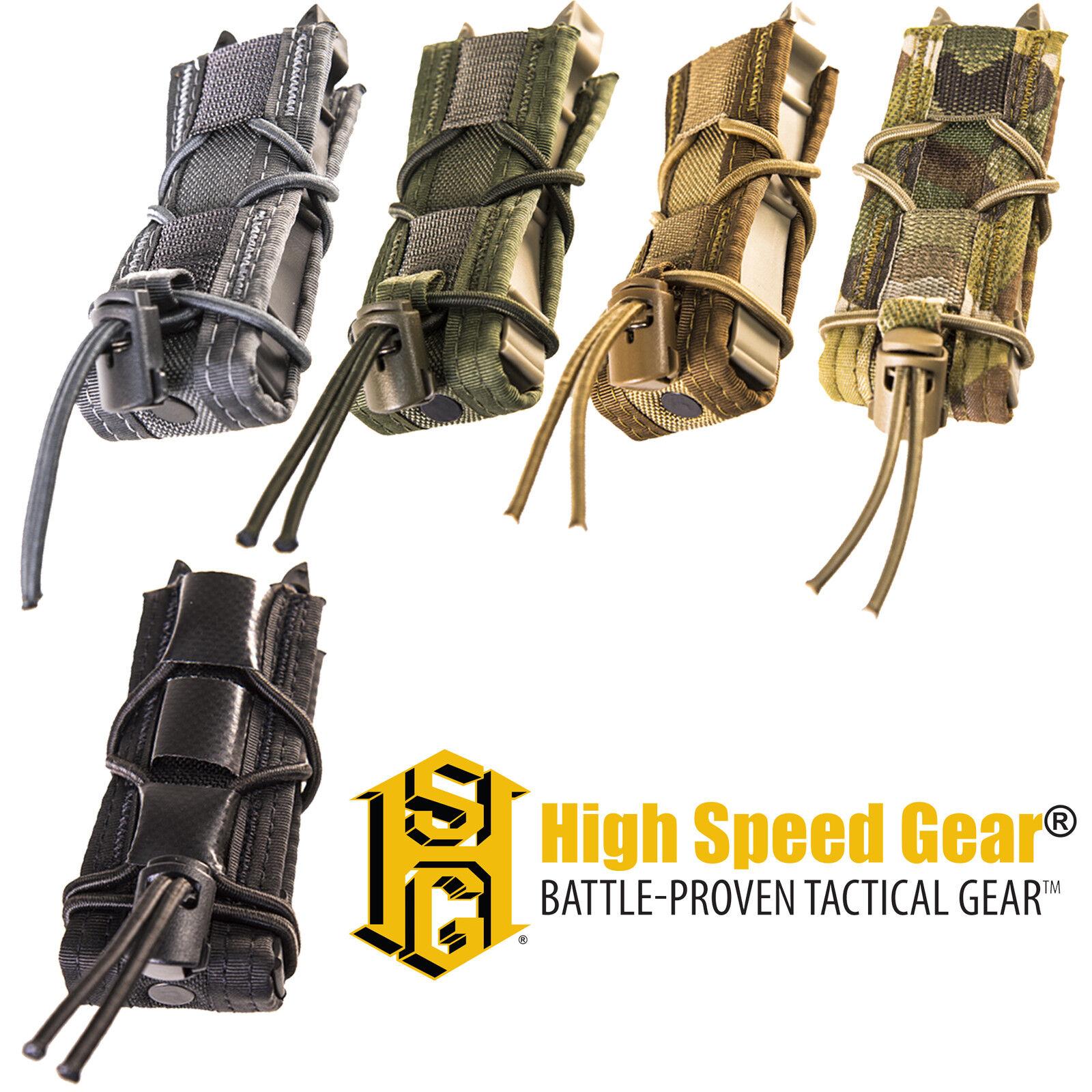 HSGI MOLLE Belt Mount Lightweight LT Pistol Magazine Mag Utility Tool TACO Pouch