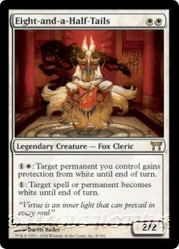 EIGHT-AND-A-HALF-TAILS Champions of Kamigawa MTG White Creature—Fox Cleric RARE