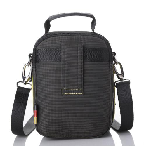 Men Sport Shoulder Messenger Cross Body Bag Tactical Travel Nylon Tote Handbag