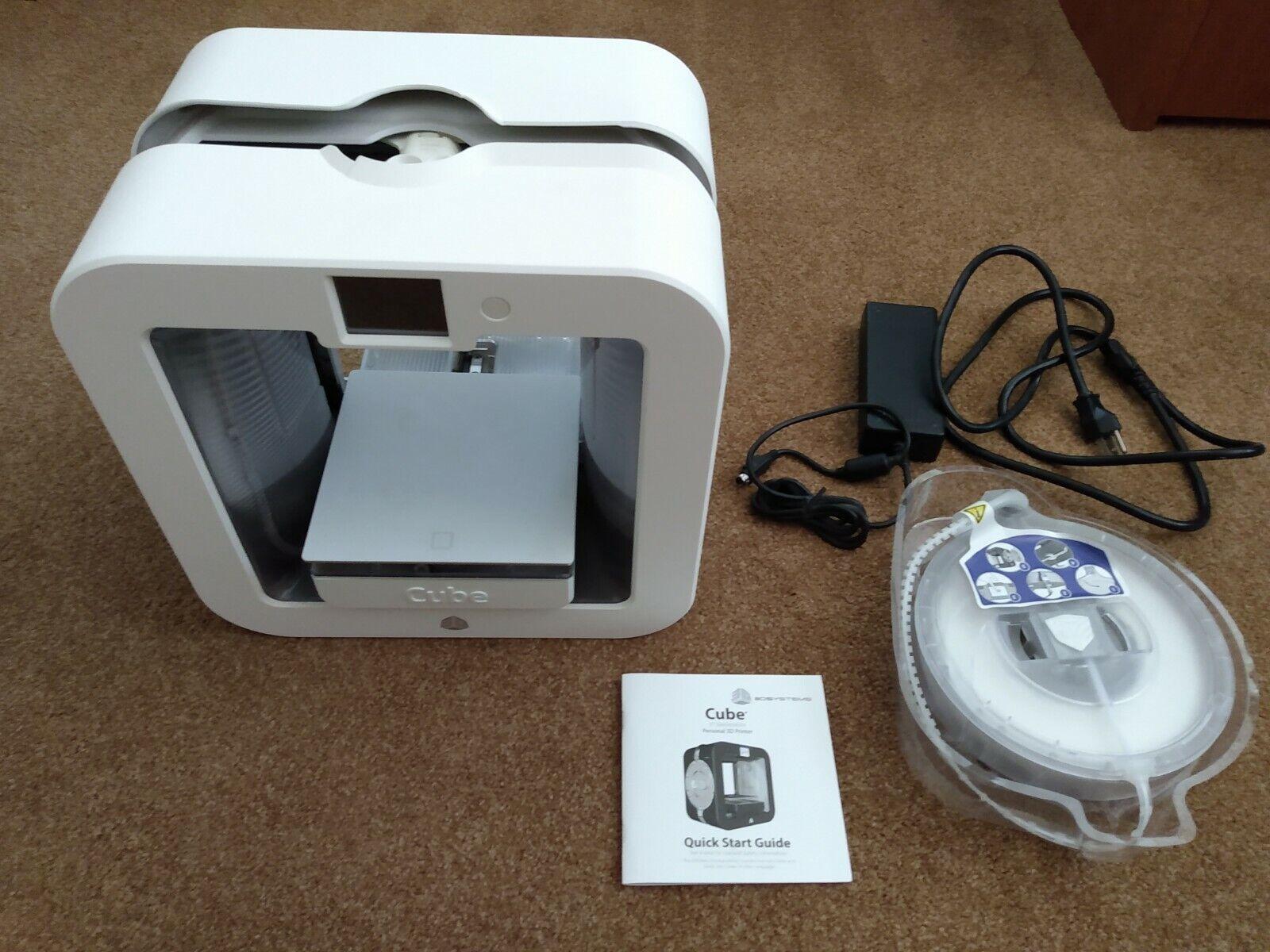 3D Systems Cube 3 3D printer, SEE DESCRIPTION