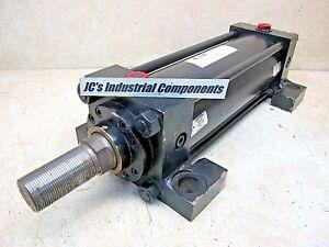 Hydroline-4-034-bore-X-10-034-stroke-heavy-duty-pneumatic-cylinder