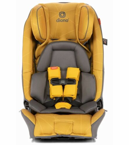 Diono 3 RXT Convertible Car Seat In Yellow Sulphur Free Shipping!!