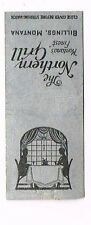 1940s Northern Grill Billings Montana Matchcover