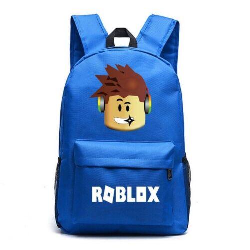 2019 Roblox Backpack Kids Boys Students School Bag Bookbag Handbags Travelbag UK