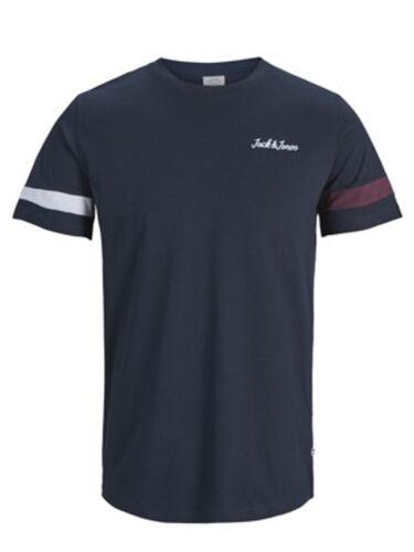 JACK /& Jones Originals in tessuto T-shirt jorwinks Uomo Casual T-shirt con logo sul petto
