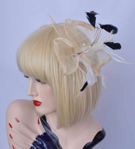 Melbourne Cup Wedding Church Party Spring Race Racing Carnival Fascinator Brooch