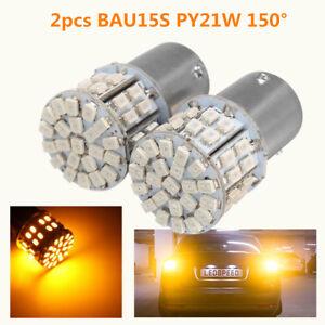 2X-BAU15S-PY21W-150-50-SMD-LED-12V-Clignotant-Turn-Signal-Ampoule-Feu-Recul-Car