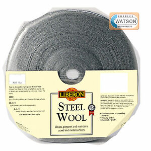 LIBERON-1kg-0000-ULTRA-FINE-GRADE-STEEL-WIRE-WOOL-High-Quality-Crumble-Resistant