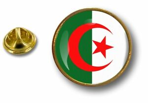pins-pin-badge-pin-039-s-metal-button-drapeau-cocarde-air-force-militaire-algerie