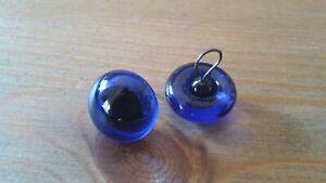 schwarz 1 Paar Glasaugen f.Teddybären // Künstlerbären 5 mm