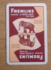Single-Playing-Card-Fremlins-Pale-Ale-Maidstone