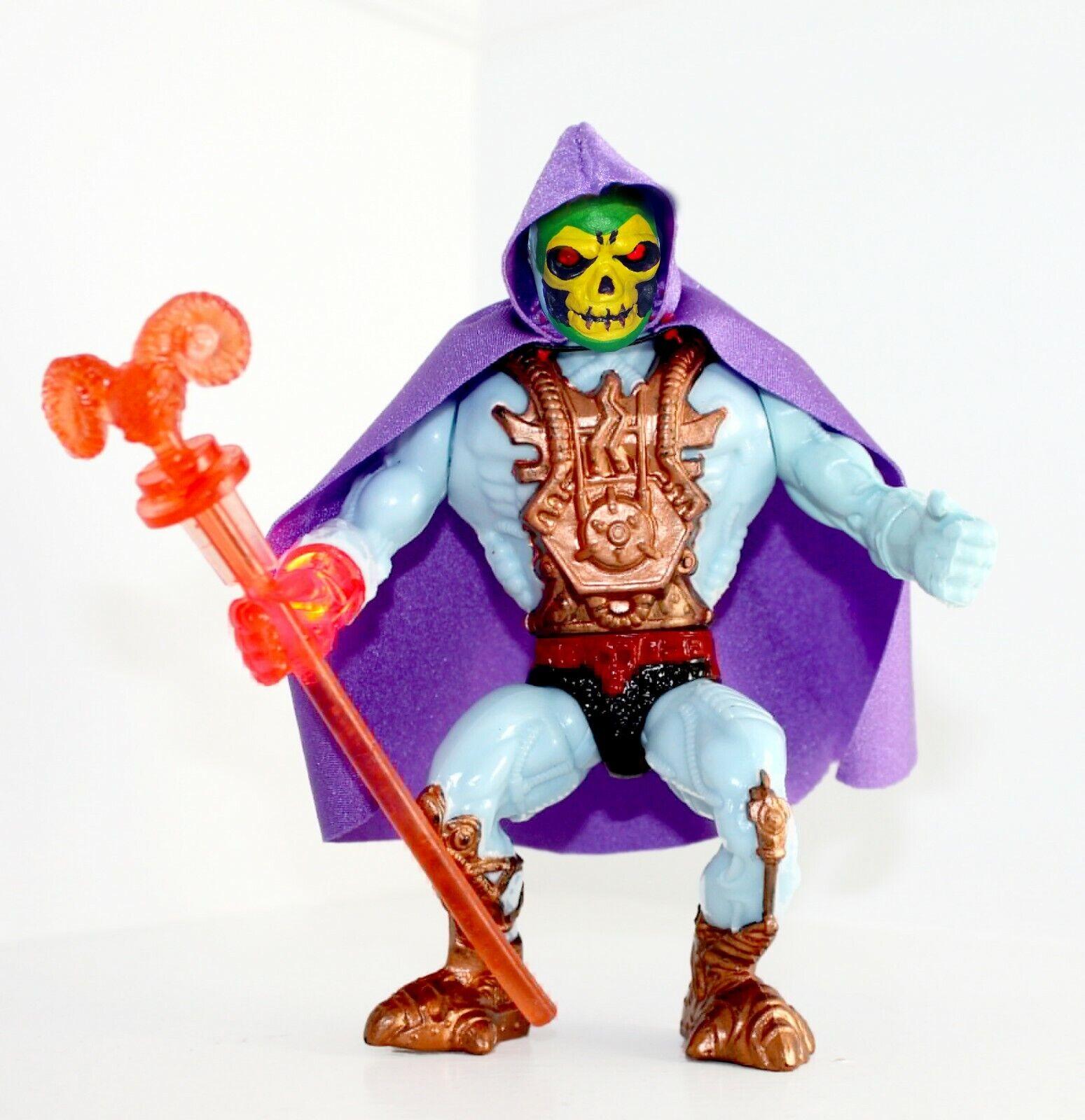 Pre-order Vintage Amos Del Universo Skeletor personalizado de luz láser Nuevo  Clásico  cabeza figura