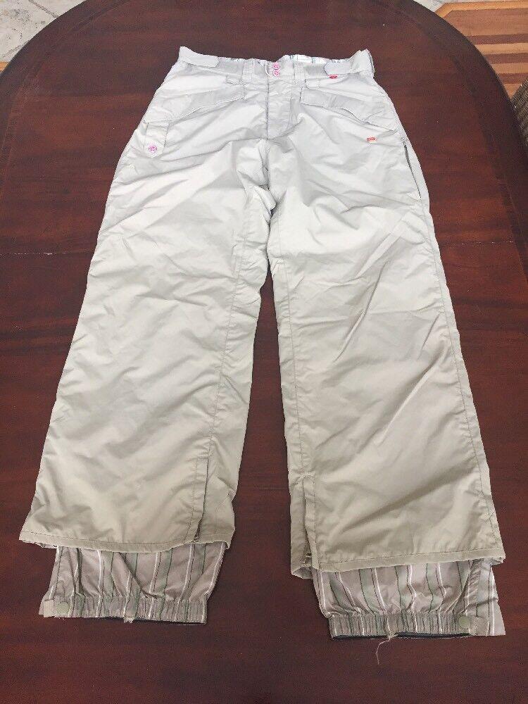 Foursquare Esq Para Hombre X-grande Beige Snowboard Ski  Invierno Pantalones. TL8  estilo clásico
