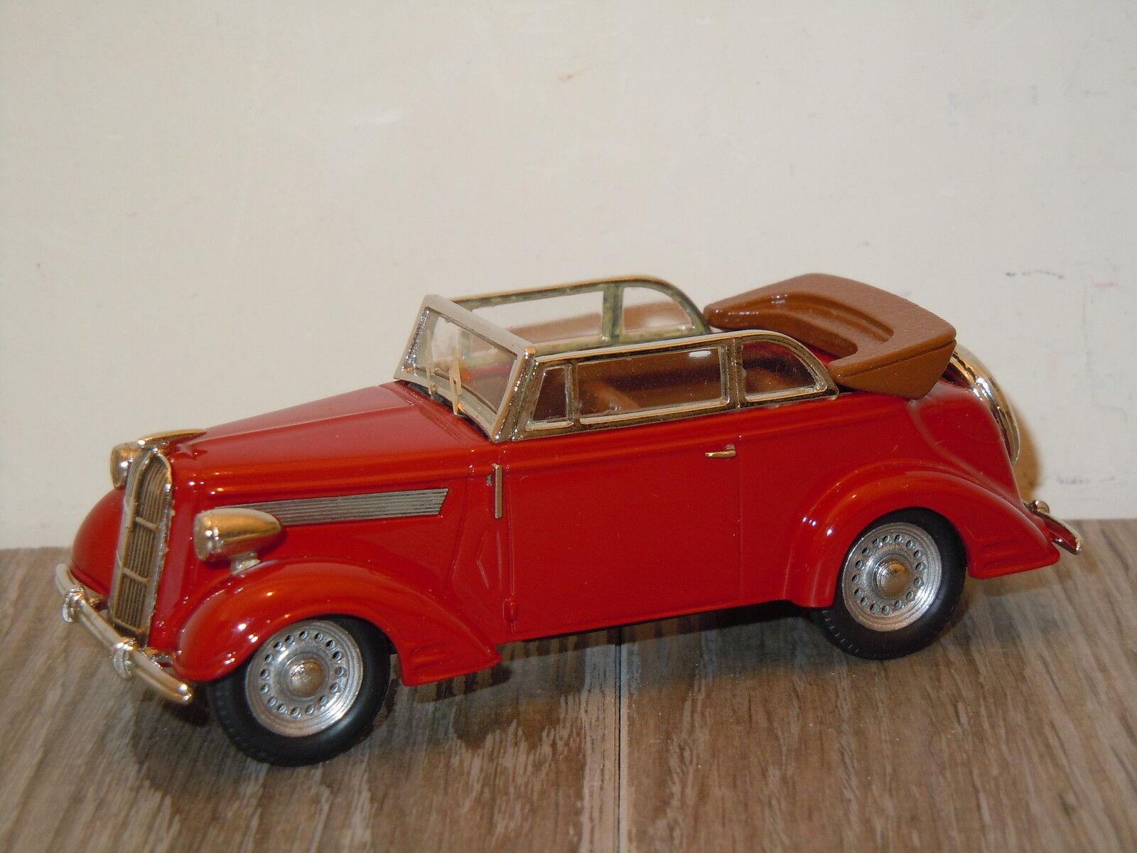 Opel Super 6 Cabriolet van Tin Wizard 3101 1 43 in Box 10701