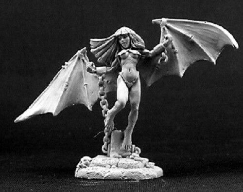 Chained Succubus Reaper Miniatures Dark Heaven Legends D&D RPG Dungeon Wargames