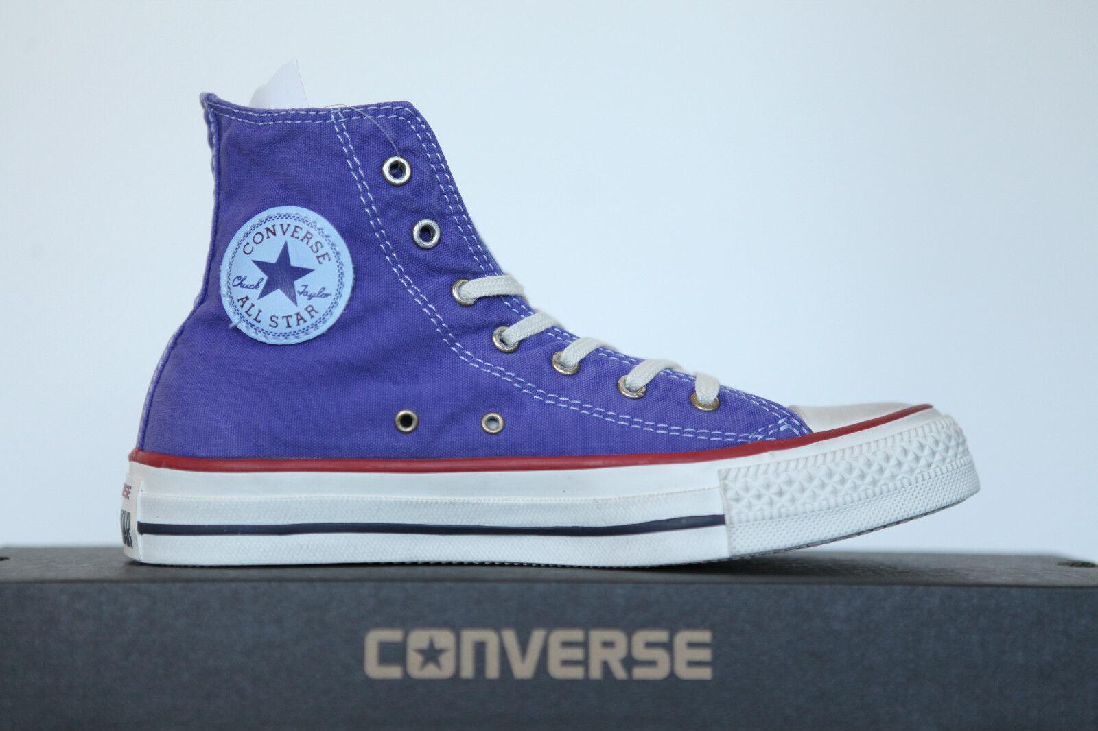 Zapatos casuales salvajes NUEVO ALL STAR CONVERSE CHUCKS HI lavado 142629c Zapatillas 40 Talla GB 7