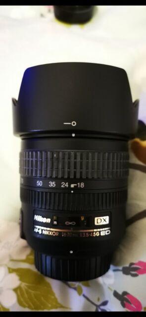 Nikon Nikkor 18-70mm AF-S DX f/3.5-4.5 G IF ED Lens