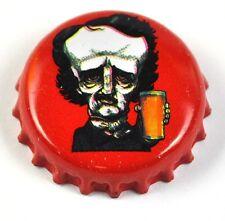 Raven Beer Bier Edgar Allan Poe Kronkorken USA Soda Bottle Cap rot