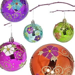 image is loading shatterproof christmas ornaments sets multiple colors sizes by