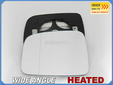 Wing Mirror Glass JEEP CHEROKEE 2001-2008 Wide Angle HEATED Left Side #JE007