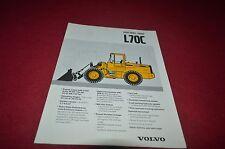 Volvo L70C Wheel Loader Dealer's Brochure DCPA6