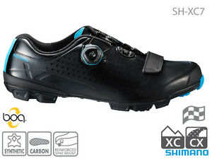Shimano-2017-SH-XC7-Cyclocross-XC-shoes-with-Michelin-soles-amp-Boa-closures