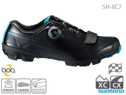 Shimano 2017 SH-XC7 Cyclocross XC shoes with Michelin soles /& Boa closures