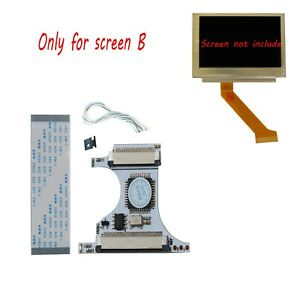 Details about GBC Flex Cable + GBC Backlight Mod Adaptor For Nintendo Game  Boy GBASP AGS-101