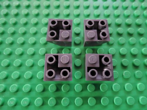 Lego 4 x Dachstein 3676 Ecke neu dunkelgrau 45°   2x2  negativ
