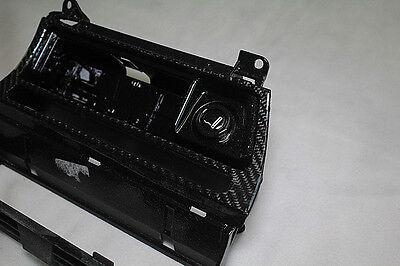 Echt Carbon Kohlefaser BMW E46 Funktionsträger Mittelkonsole Ablagefach Abdeckun