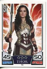 Marvel Hero Attax Series 1 Thor Subset Chase Card T4 Sif