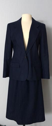 Vintage Pendelton Woolen Suit Set Blazer And Skirt