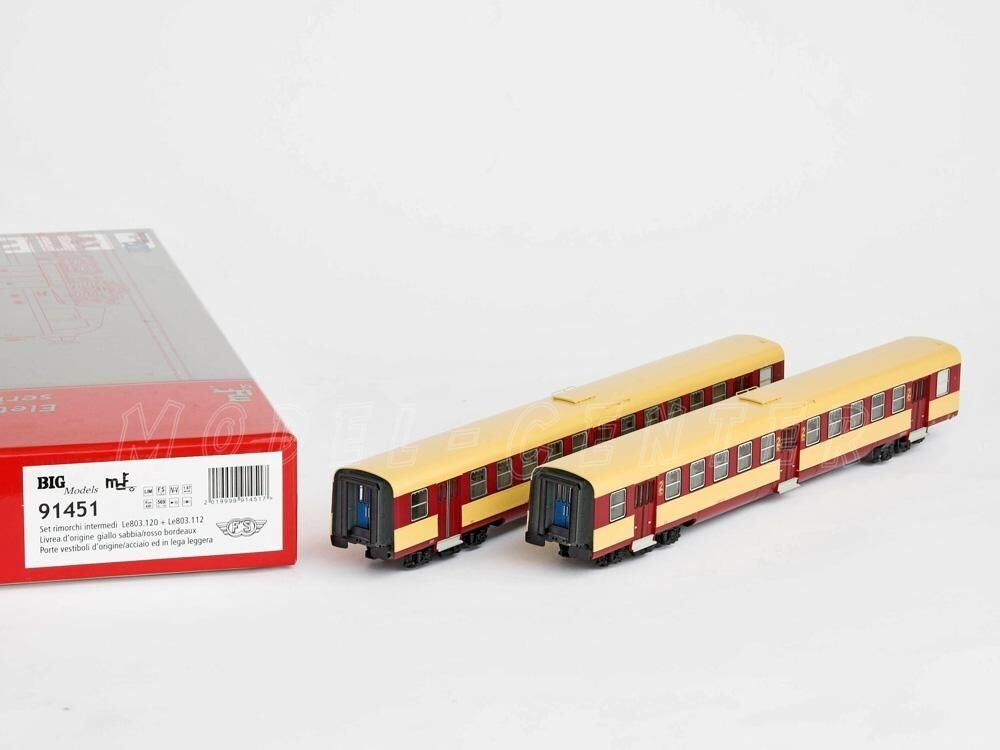 Big models MDF 91451 ALE 803 towed Intermediate, Yellow Sand Red bordeau