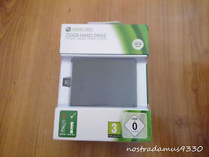 XBOX-360-SLIM-Hard-Drive-HDD-250GB-Brand-New-amp-Factory-Sealed-OFFICIAL
